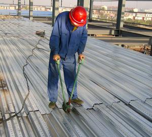 楼承板安装案例