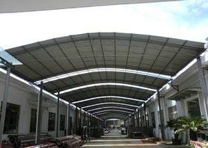 钢结构雨棚案例